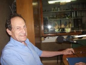 Josep Maria Cirera, parlant de poesia i d'història relacionada amb els gegants d'Hostalric, Ramon Berenguer (Cap d'Estopa) i Maphalda, la seva Dona (23/08/15)
